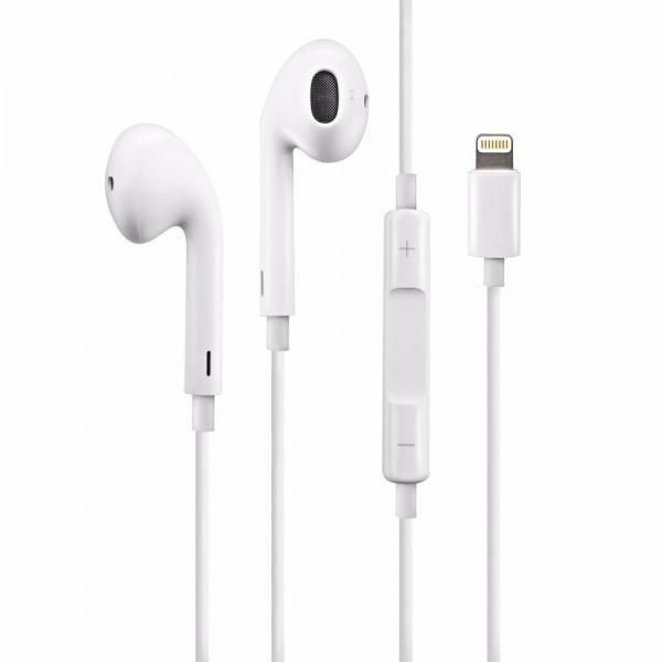 57ef2c29f99 Auriculares Lightning Iphone 7/ 8/ X.- Original Manos Libres. Loading zoom